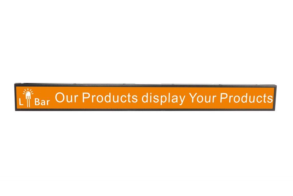 line bar LCD display